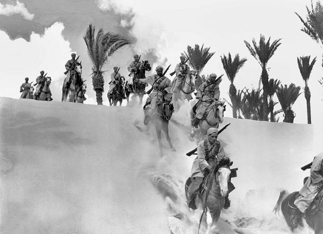 Histoire Spahis Cavaliers du désert