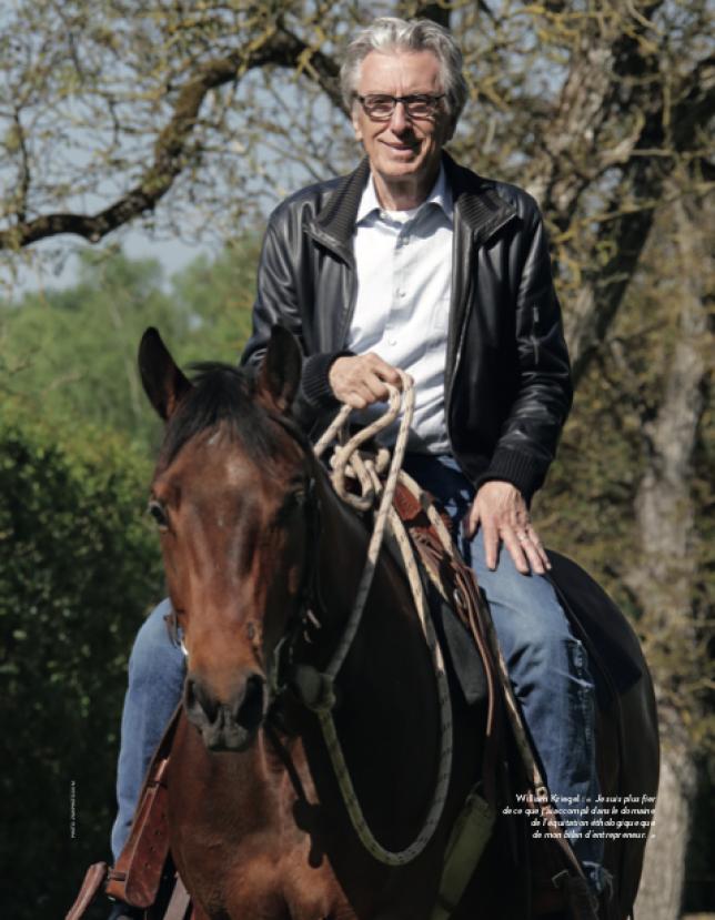 """William Kriegel : """"Le cheval m'a appris à être un leader"""""""