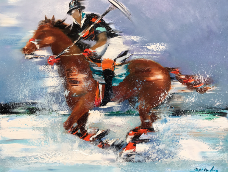 Victor Spahn - Impressionnisme équin