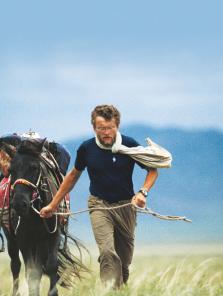 "Sylvain Tesson : ""Mon cheval et ma liberté"""