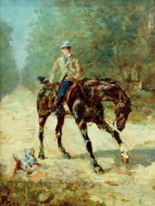 Le cheval dans l'art, Henri de Toulouse-Lautrec